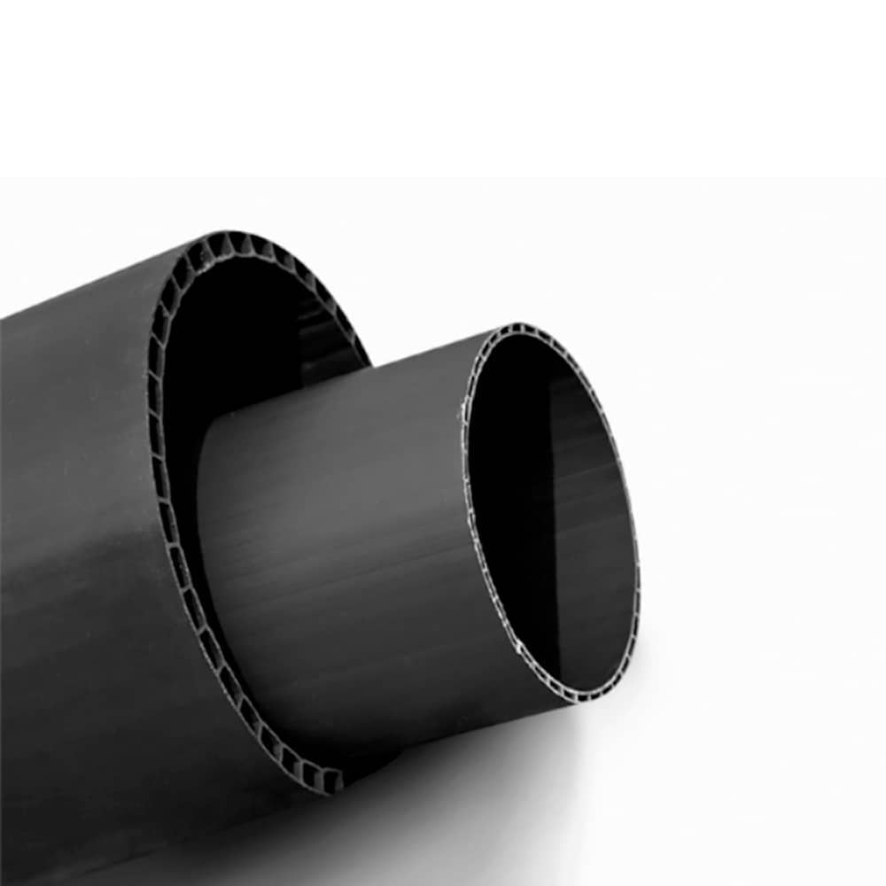 UPVC double layer axial hollow pipe